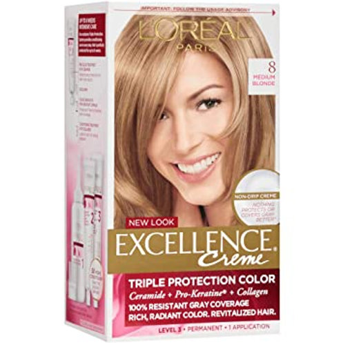 L'Oreal Excellence 8.0 Medium Blonde