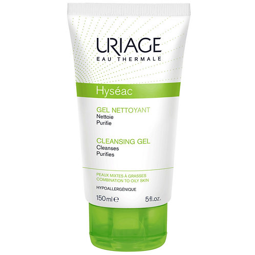uriage hyseac gentle cleansing -150ml