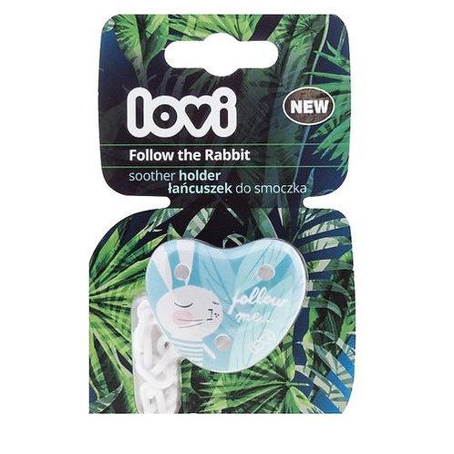 lovi soother holder follow rabit- 10/884
