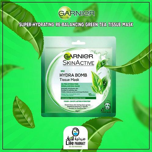 Garnier Hydra bomb Face mask sheet
