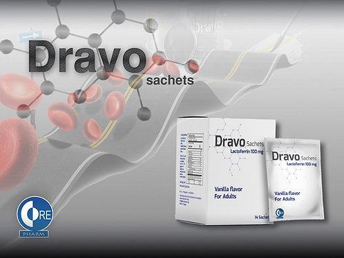 Dravo Lactoerrin 100 mg 14 Sachets