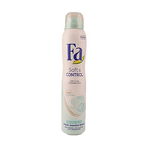 FA DEo Spray200 ml Soft & Control