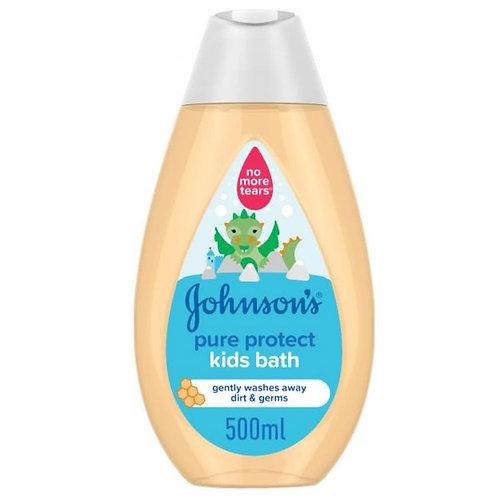 جونسون سائل استحمام الحماية النقية للاطفال - 500 مل