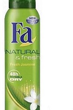 Fa Spray Natural & Fresh 150ml