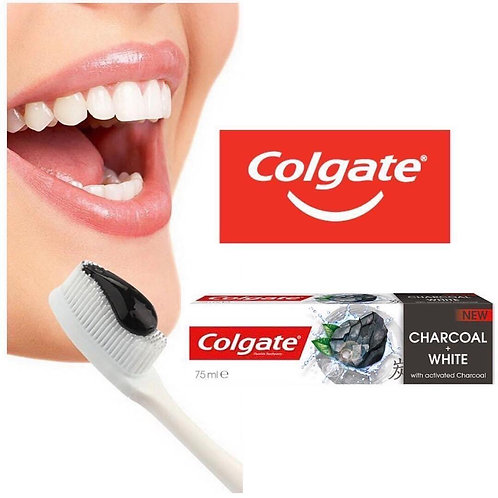 Colgate charcoal and White tooth paste