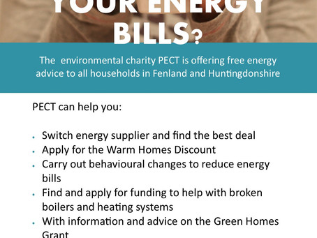 Advice on energy bills!