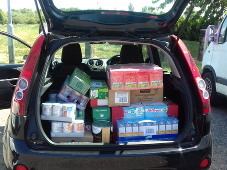 FareShare Donates 2 car loads!!