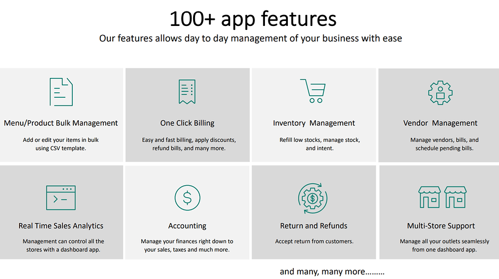 IVEPOS App features