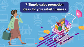 7 Simple Sales Promotion Ideas for your Retail Business