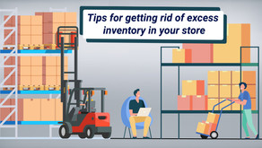 Tips for getting rid of excess inventory in your store
