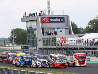 ETRC at Slovakiaring for the very first time!
