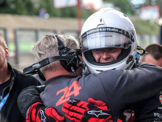 André Kursim´s first race victory with Tankpool24 and Stefan Honens!