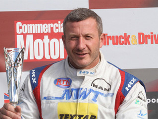 A triumphant comeback for John Newell in his newly built race truck