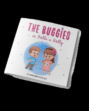 buggies in bellas belly cover 3d mockup.