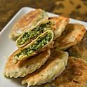 Vegetarian Leek Pancakes