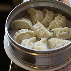 Steamed Vegetarian Dumplings