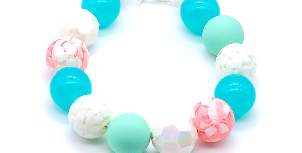 Caribbean Marble Necklace