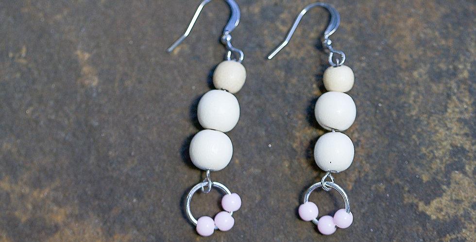 A Spot of Pink Earrings