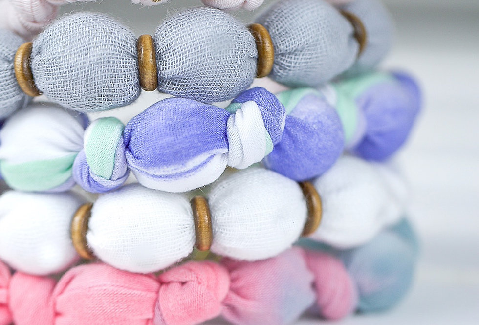 Bundle Deal - Fabric Necklaces