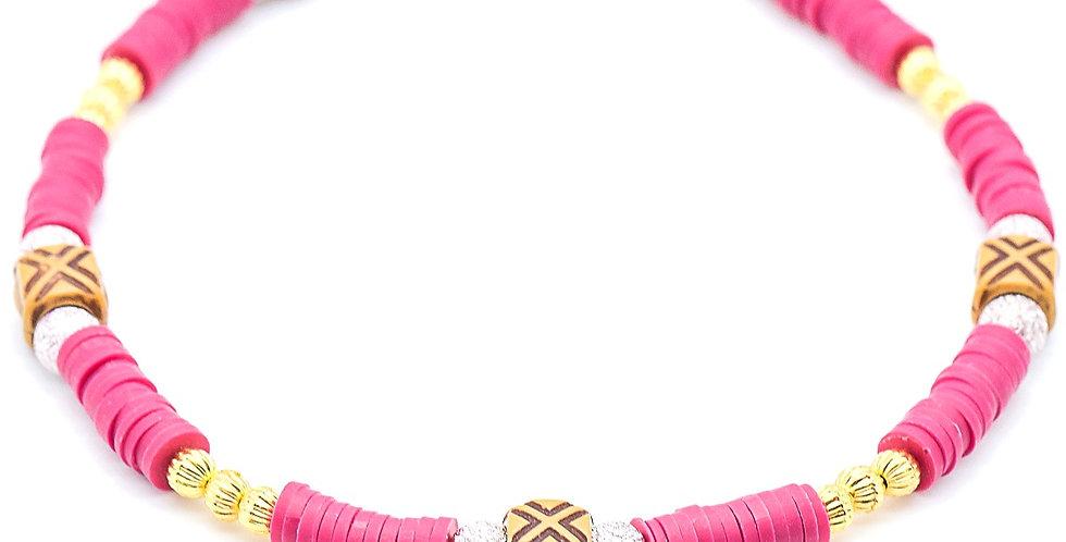 Tribal Heishi Necklace
