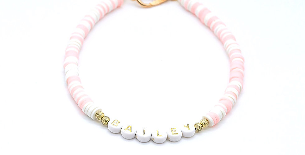 Cotton Candy Name Necklace
