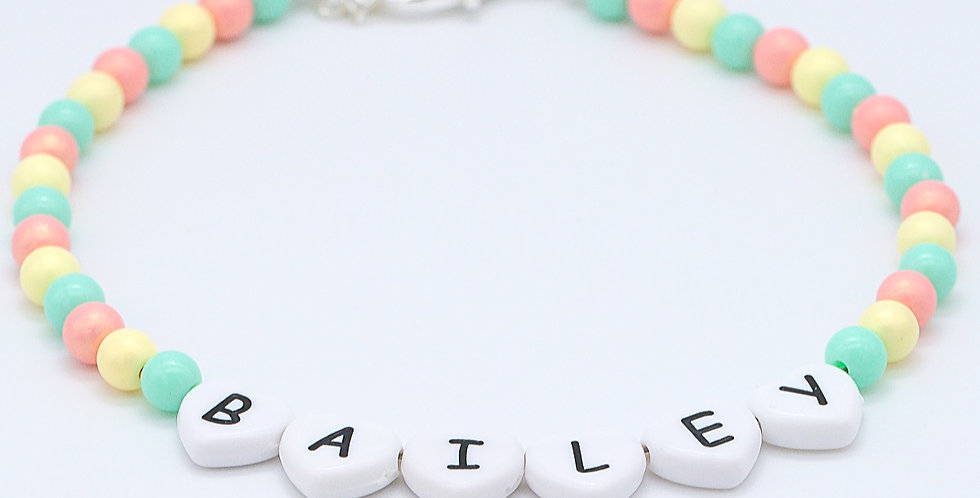 Sun Kissed Name Necklace