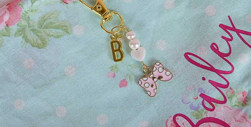 Sweet Southern Bow Collar Charm