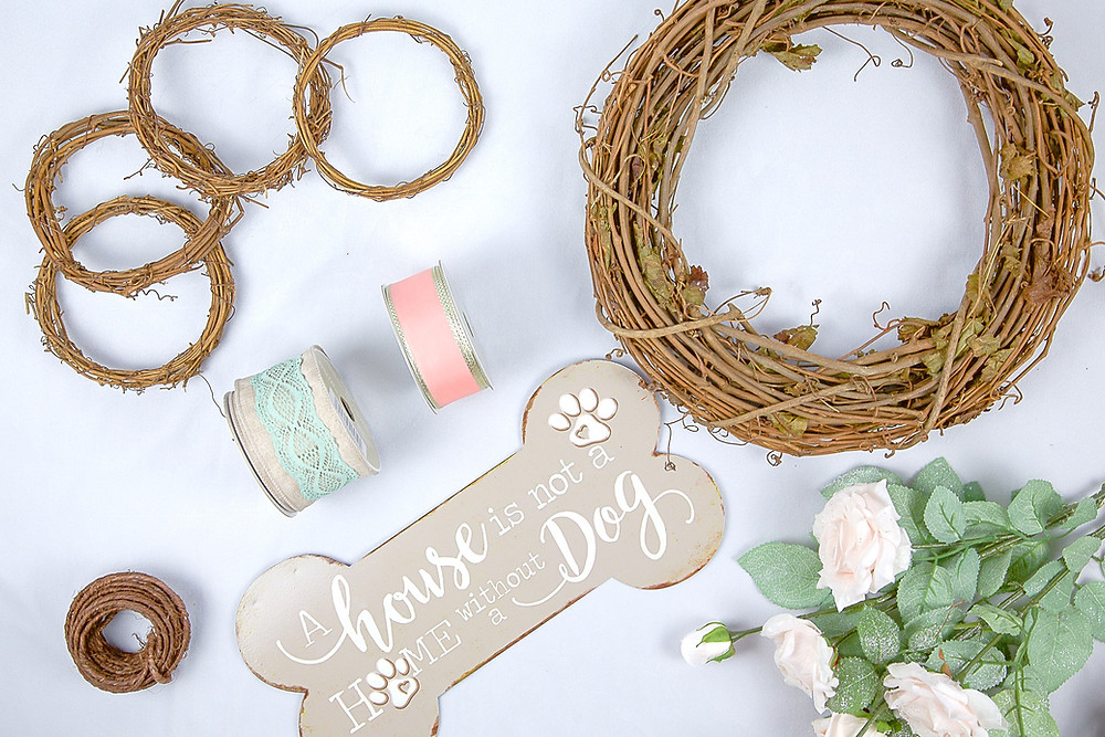 DIY Wreath Supplies; Materials for DIY Wreath; DIY Wreath Items