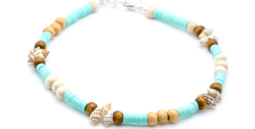 Seashell Heishi Necklace