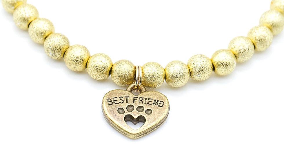 Gold Shimmer Necklace