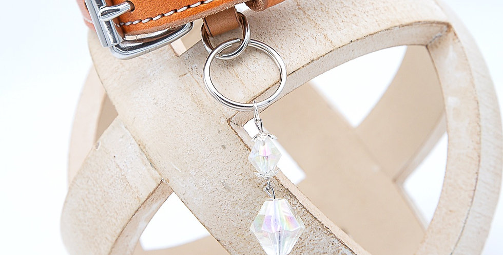 Frosted Collar Charm