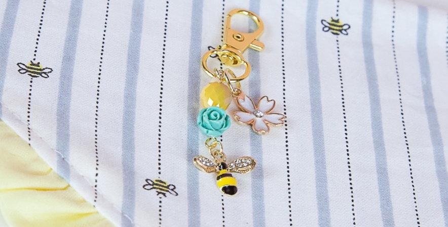 Busy Bee Collar Charm