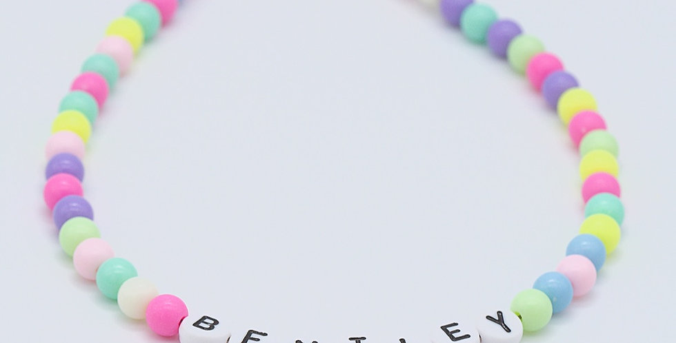 All the Good Vibes Name Necklace