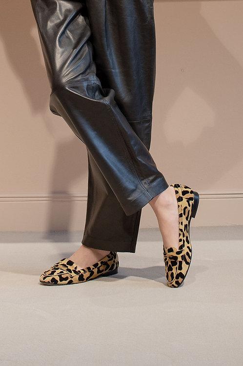 Laura Leopard Wildleder