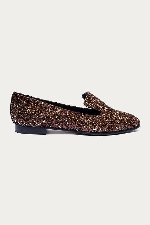 Amelie Bronze Glitter