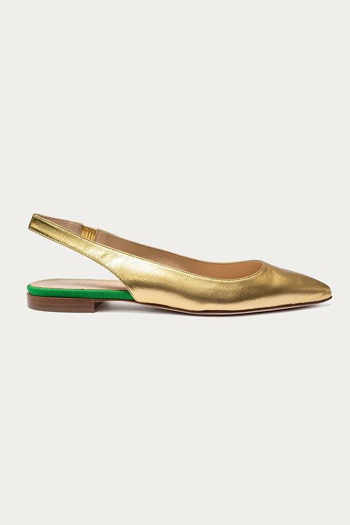 Elsbeth Gold Metallic