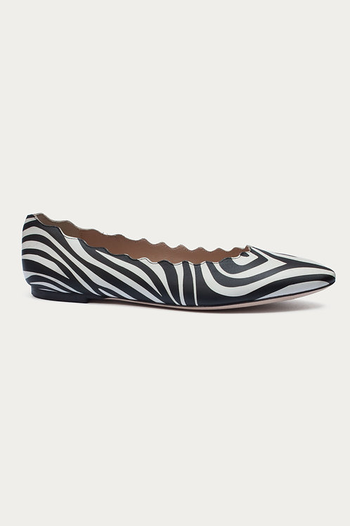 Ada Zebra Glattleder