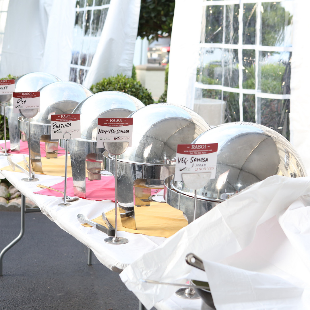 Outdoor Catering Setup