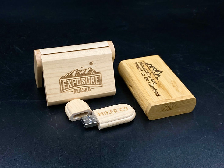 原木客製化USB