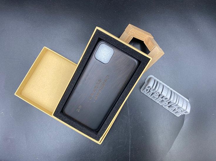 客製化原木手機殼  (iPhone 限定)