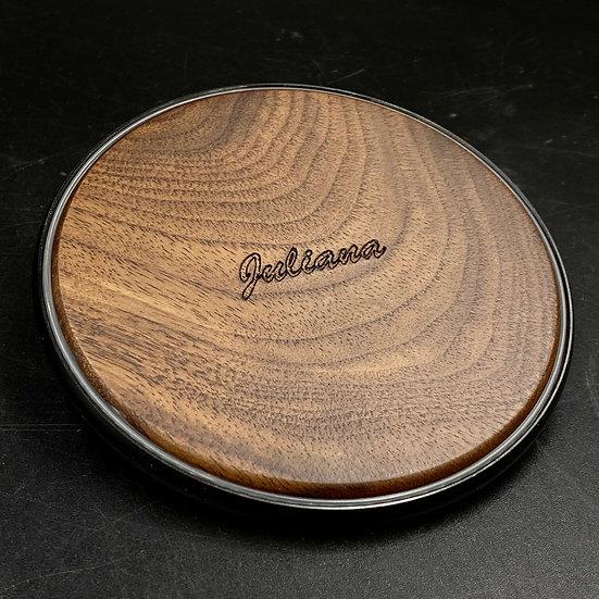 客製化木質無線充電器