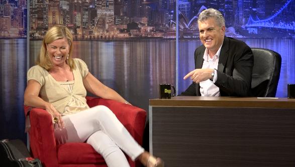 The Darren Sanders Show with Deborah Hutton