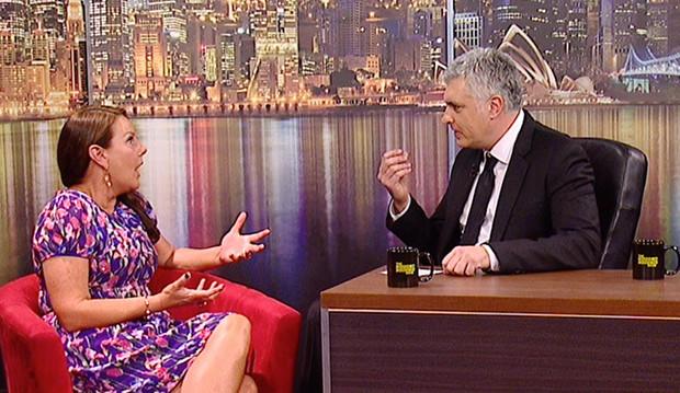 The Darren Sanders Show with Julia Morris