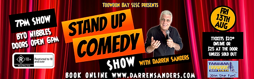 Darren Sanders Comedy Toowoon Bay SLSC.p