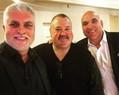 Darren Sanders with Darryl Brohman and Gordon Tallis