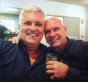 Darren Sanders and Alfie Langer