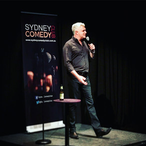 Darren Sanders at Sydney Comedy Club