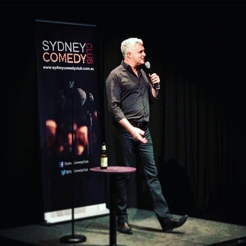 Darren Sanders at Sydney Comedy Club