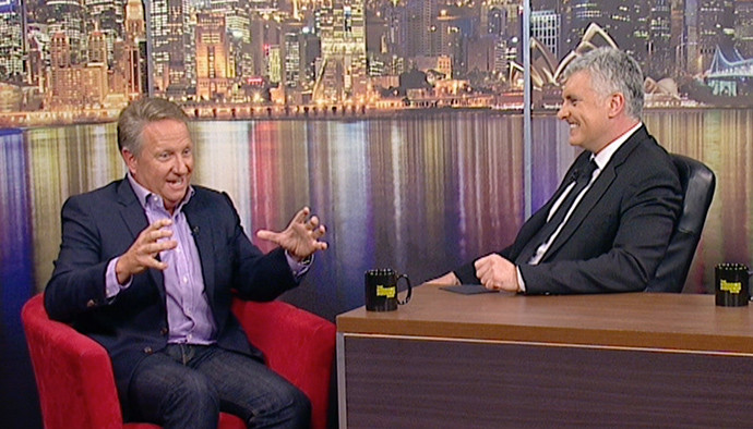 The Darren Sanders Show with Ian Healy