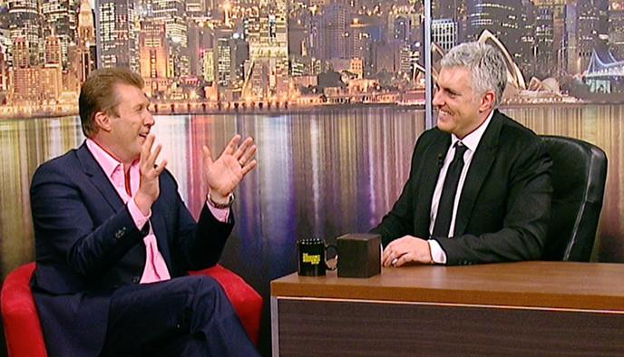The Darren Sanders Show with Peter Overton